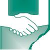 associated partners in healthcare logo mark